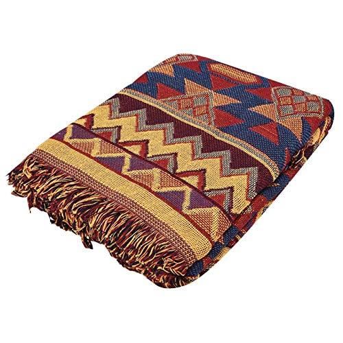 Mancha de sofá, confortável, seguro durável, dupla face, manta de sofá, sala de estudo de textura rica, escritório para casa(jk15)
