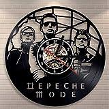 Depeche Mode Rock Band Vinyl Record Reloj de Pared Famous Ro