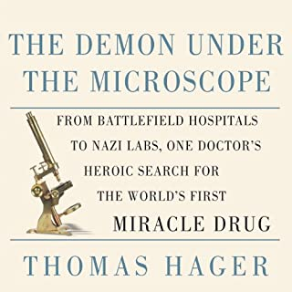 The Demon Under The Microscope audiobook cover art