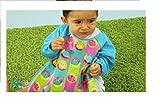 Baberos impermeable con mangas para bebé. Kiokids 1224