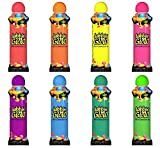 Nannicola Dabbin' Glow Bingo Daubers Bulk Case - 144 Daubers (12 Dozen) Assorted Colors, 3oz
