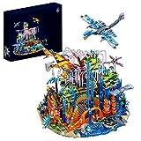 WWEI Modelo modular de casa de juguete de ciencia creativa, con bloques de construcción, compatible con Lego 2878