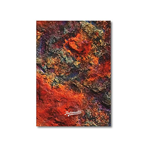 Imborrable Óxido - Cuaderno de notas con malla de puntos, 144 páginas, A5, 14.8 x 21 cm