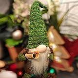 Airlab Ostern Weihnachten Deko Wichtel 49 cm Hoch, Schwedischen Weihnachtsmann Santa Tomte Gnom, Festliche Verpackung, Skandinavischer Zwerg Geschenke für Kinder Familie Ostern Weihnachten, Grün - 7