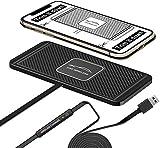 LVYE1 MRMF Chargeur de Voiture sans Fil Qi - 10 W - 7,5 W - Adaptateur de Charge Rapide pour iPhone...