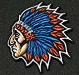 Indian Chief Embroidery...image