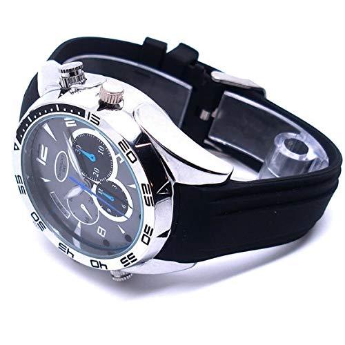 Eurrowebb Armbanduhr mit Kamera, Spion HD 1080P, 32 GB, Nachtsicht, wasserdicht