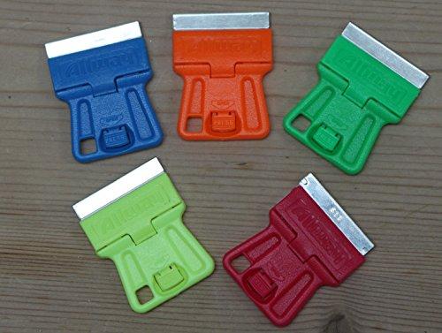 MINI GLASS SCRAPER (PACK OF 5)