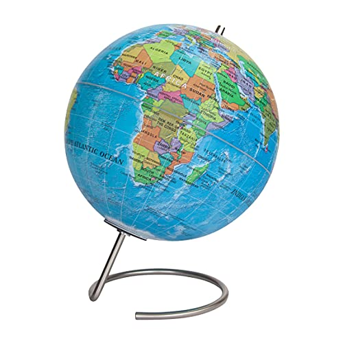 Waypoint Geographic Magneglobe Magnetic UP-TO-DATE World Globe with Stand - Includes 32 Magnetic...