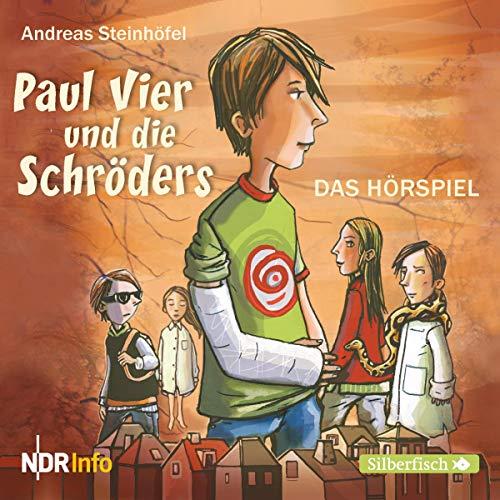 Paul Vier und die Schröders. Das Hörspiel audiobook cover art