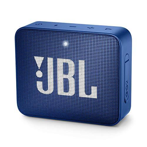 JBL Go 2 Portable Bluetooth Speaker - Blue (Renewed)