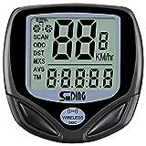 SUNDING Wireless Cycling Bicycle Computers Waterproof Speedometer Bike Odometers