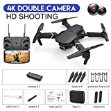 SANTITY 1080P HD Headless Drone with Camera, 4K Foldable FPV Remote Control RC Flying Quadcopter Drone Aerial Camera, Mini WiFi Live Video Aircraft Plane Toy Gifts for Kids Adults