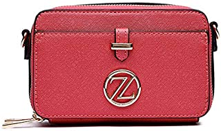 Zeneve London Ella Crossbody Bag For Women - Pink
