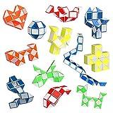 Ganowo Fidget Snake Cube Mini Twist Puzzle(12PACK)...