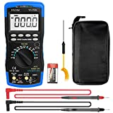 Infurider YF-770N Digital Multimeter Auto-Ranging Voltmeter Avometer Universal Meter 6000 Counts with Self-Locking Protection,NCV for AC DC Volt Amp Ohm Capacitance Temp Diode Test