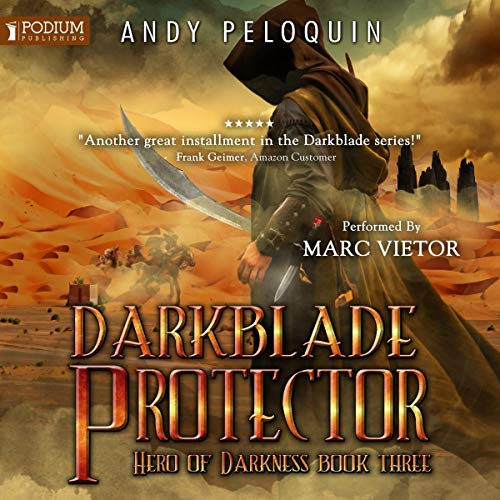 Darkblade Protector audiobook cover art