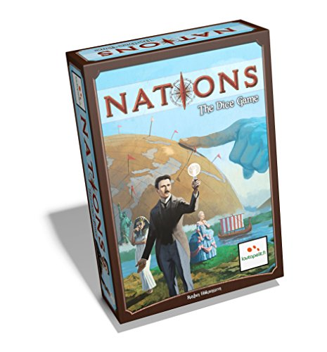 Lautapelit 41 - Nations The Dice Game