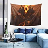 Longocean Thresh The Chain Warden League Legends Tapestry Wall Hanging Game Curtain Decor Blanket Beach Coverlet Poster Popular Decoration 60x40 in
