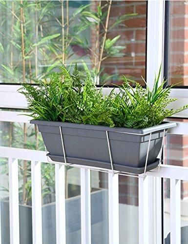 Plante Théâtre Simple Moderne geländer suspendues étagères Jardinière rectangulaire Fleurs Cadeau idéal Jardinier