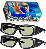 Best Dlp Link 3d Glasses - DLP LINK 144 Hz Ultra-Clear HD 2 PACK Review