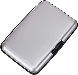 Mini RFID Aluminum Wallet Credit Cards Holder Metal ID Case for Men Women