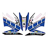 accessorypart YAMAHA WR 125 X/R Sticker Set Full Blue