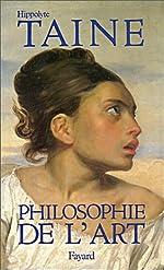 Philosophie de l'art, 1865 de Hippolyte Taine