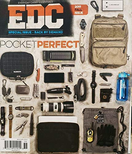 EDC Magazine Everyday Carry Essentials Fall 2019