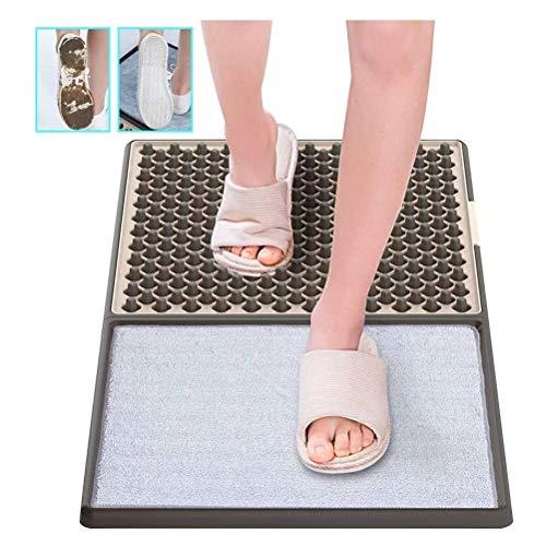 Leikance - Felpudo de limpieza automática, plantilla de desinfección de suela de zapato 3D