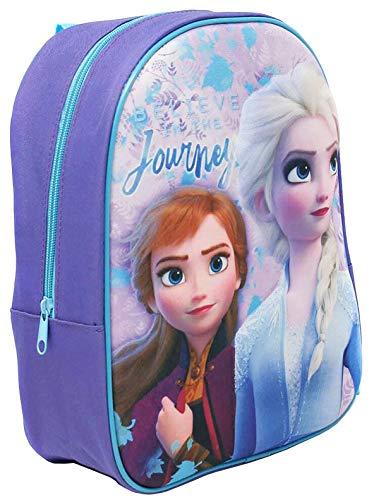 Official 3D Frozen Backpack Rucksack Luggage Sport School Travel Bag