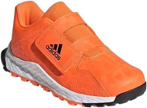 adidas Hockeyschuhe Youngstar Velcro Orange Schwarz