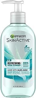 Garnier SkinActive Face Wash with Aloe Juice, For Dry Skin,  6.7 fl. oz.