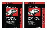 bishko automotive literature 2003 Toyota Tacoma Shop Service Repair Manual Book Engine Drivetrain OEM