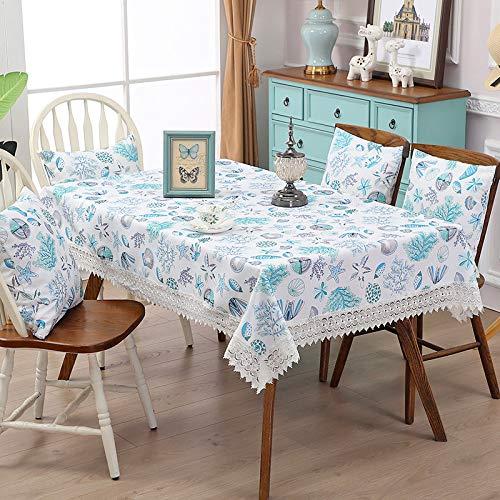 GYZBY Tischdecke mode wasserlösliche rand wasserdichte tischdecke rechteckige haushalts tischdecke