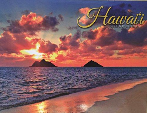 Hawaii Sunset Cover Beautiful Scenes 2017 Hawaiian Island Calendar