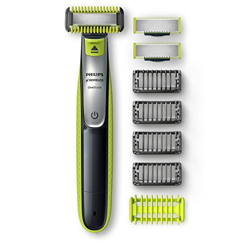 Philips Norelco OneBlade Face + Body Bonus Pack with Free Blade, QP2630/72