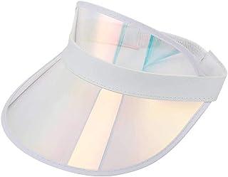 Sun Visor Hat Outdoor UV Protection Sun Cap for Women Men and Kids Wide Brim 360°Rotation