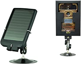 Ltl Acorn 3310A No Glow Motion Sensor Activated Hunting Wildlife Camera + Solar Panel Charger + Security Box