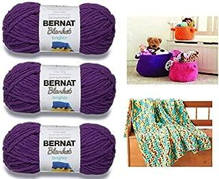 Best bernat blanket big patterns crochet Reviews