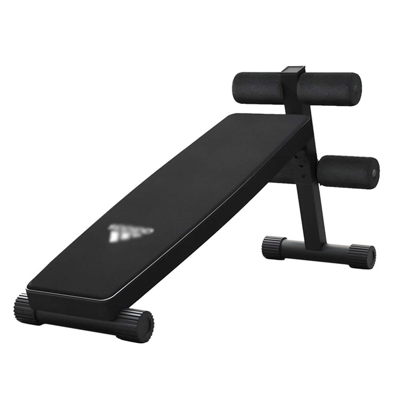 不条理案件着実にトレーニングベンチ ダンベルベンチ腹筋運動器具スポーツ用腹部ホームスイングベンチ 仰臥位ボード (Color : Black, Size : 134*33.5*58.5cm)