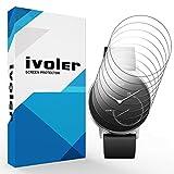 iVoler [8 Stück] Schutzfolie Bildschirmschutzfolie für Nokia Steel, 3D Vollständige Abdeckung [Wet Applied] [Anti-Kratz] [Blasenfrei] HD TPU Weich Folie