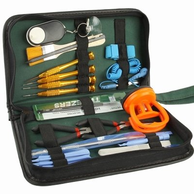 Herramientas para Reparar, 21 en 1 Destornillador portátil/teléfono móvil/PC Desmontar Conjunto de Herramientas Kits de reparación