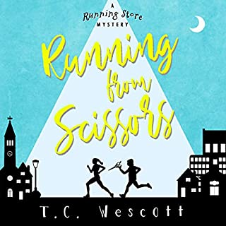 Running from Scissors     Running Store Mystery Series, Book 1              By:                                                                                                                                 T.C. Wescott                               Narrated by:                                                                                                                                 Natalie Naudus                      Length: 7 hrs and 3 mins     19 ratings     Overall 4.5