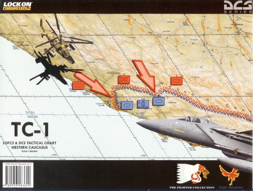 Tactical Chart 1 - Flaming Cliffs 2/DCS Black Shark The Fighter Collection