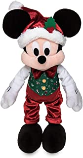 Disney Store Mickey Mouse Holiday Cheer Peluche Mediano 43cm - Edición de Navidad año 2019