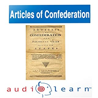 The Articles of Confederation AudioLearn Follow-Along Manual cover art