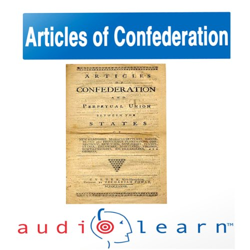 The Articles of Confederation AudioLearn Follow-Along Manual audiobook cover art