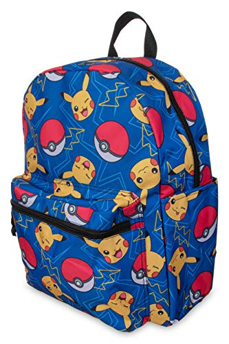 "Pokemon Pokeball 16"" Backpack"