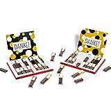 Aufkleber Set für Merci Schokolade (passend für 250g Box mit 20 Riegeln) - Ganz persönlich Danke sagen - Kreative Dankeschön Geschenke für Ihre Liebsten (Schokolade nicht im Set enthalten)